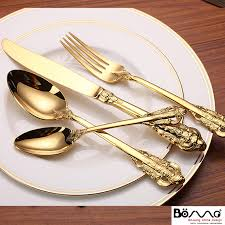 Asian gold plated fork