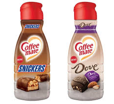 Roasted for a full flavor, each candy inspired coffee will offer you a true coffee taste with undertones of your favorite candies such as peppermint patty and peanut butter cups. Snickers And Dove Chocolate Flavored Coffee Creamers Coming To Stores