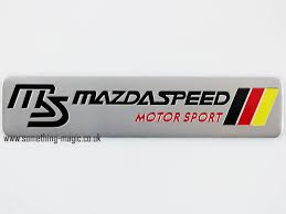mazdaspeed logo. click to enlarge mazdaspeed logo