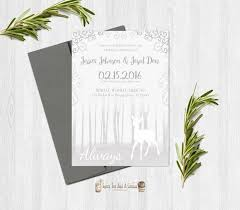 harry potter wedding invitation printable deer after all this time always love sci fi geek nerd marriage announcement gray white