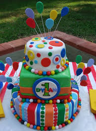 Carnival Birthday Cake Childrens Birthday Cakes Party Time