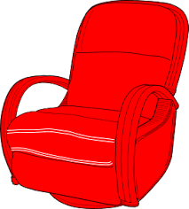 recliner chairs clip art. Contemporary Art Lounge Chair Red Clip Art With Recliner Chairs C