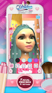 makeup games 3d beauty salon for fashion star and glam makeover screenshot 5