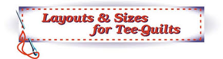 Design your own Tee-Quilt or Tee-Pillow! See layout options. & Layouts and sizes for Tee-Quilts Adamdwight.com