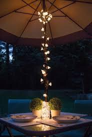 mason jar fairy lights umbrella lights