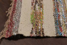 rugsville dhurrie strips multi jute handmade 22086 2x3 rug rugsville ping great deals on flat weave rug rugsville in