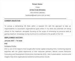 Human Resource Resume Objective Human Resources Resume Objective Megakravmaga 9
