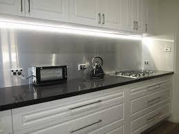 kitchen cabinet installer jobs edmonton fresh have a look at the brushed aluminium splashback we installed