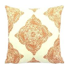 pale yellow pillows.  Pale Round Yellow Decorative Pillow Orange Pillows Front View  Terracotta Throw Target   To Pale Yellow Pillows