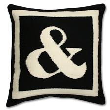 Jonathan Adler Letter Pillow