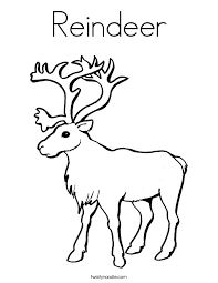 Small Picture reindeer coloring page Coloring Pages Ideas