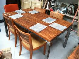 Maple Kitchen Table And Chairs Kitchen Butcher Block Kitchen Table With Imposing Butcher Block