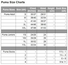 Puma Golf Size Chart Puma Golf Glove Size Chart Rabbi Gafne
