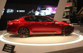 2018 kia k900 price. brilliant k900 2017 kia k900 auto show side view red color intended 2018 kia k900 price