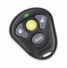 563h hornet alarm w remote car starter new