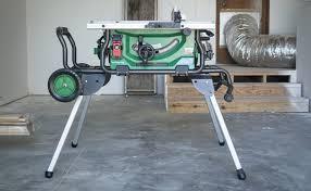 hitachi table saw. hitachi 10-inch jobsite table saw e