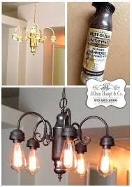 spray paint brass chandelier best brass chandelier makeover ideas on paint daydream being frugal spray paint