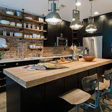 75 Beautiful Small Industrial Kitchen Pictures Ideas April 2021 Houzz