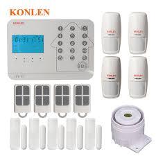 Konlen <b>WIFI</b> GSM PSTN <b>Smart Home Security Alarm System</b> For ...