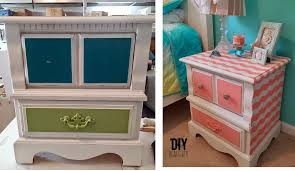 Shabby chic nightstand Cottage Wanelo Shabby Chic Makeovers You Can Use On Your Old Nightstand