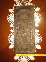 wood carving wall decoration art