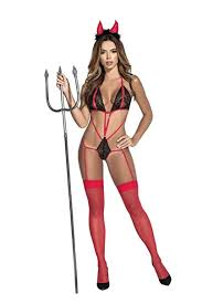 Mapale 6381 Sexy Devil Costume Outfit