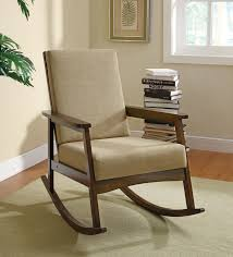 wooden rocking chair for nursery. Furniture:Inexpensive Upholstered Rocking Chair Cushioned Chairs Childs Bentwood Feeding Grey Nursery Recliner Bedroom New Wooden For Y