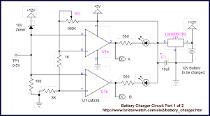 solar panel charge controller circuit diagram my wiring diagram
