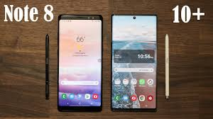 Samsung Note Comparison Chart Galaxy Note 10 Plus Vs Galaxy Note 8 Should You Upgrade