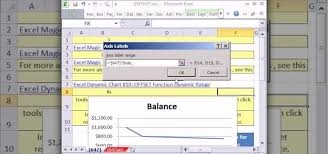 How To Create A Dynamic Line Chart For Accounting In Ms