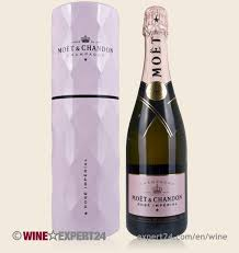moet chandon rosé imperial glimmer chill box in giftbox 12 0 75 l