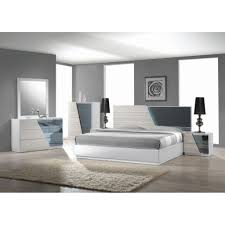 Masculine Bedroom Furniture Contemporary Platform Masculine Bedroom Sets Faux Leather Cal King