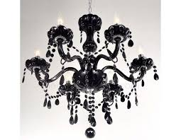 french provincial style glass chandelier black 6 philips dimmable e14 light bulbs mega saver