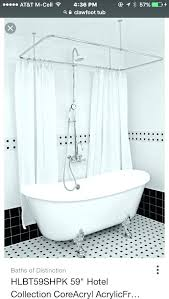clawfoot tub shower curtain liner thanks so much make rod fabric