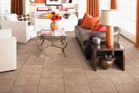 Indoor tile / living room / floor / ceramic - DEL NORTE