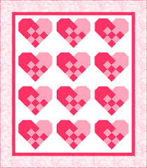 Quilting Assistant : Free Pattern : Valentine Heart Block &  Adamdwight.com