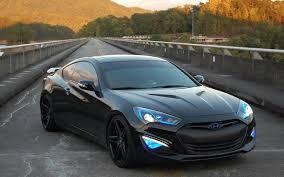 hyundai genesis coupe custom.  Coupe XO Caracus Black On 2013 Hyundai Genesis Coupe Custom Wheels Throughout