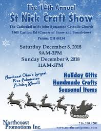 exhibitor line up for this weekend s 14th annual st nick show