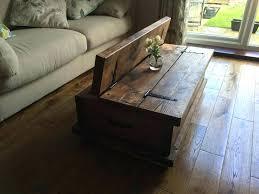 rus 18 original rustic solid oak coffee table inspirations