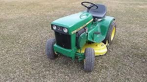 john deere 112 garden tractor electric lift clutch very good john deere 112 garden tractor electric lift clutch very good shape what s it worth