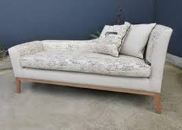image of modern chaise lounge indoor furniture