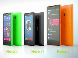 Nokia X, Nokia X+ and Nokia XL ...