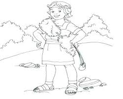 David And Goliath Coloring Page 465 And Coloring Pages And Coloring