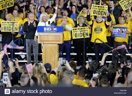 April 29, 2019 - Pittsburgh, Pennsylvania, U.S - Dr. JILL BIDEN introduces  her husband Joe Biden, who kicked off his campaign for president in  Pittsburgh, Pennsylvania. (Credit Image: © Preston Ehrler/ZUMA Wire Stock  Photo - Alamy