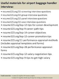 Baggage Handler Resume Free Baggage Handler Resume