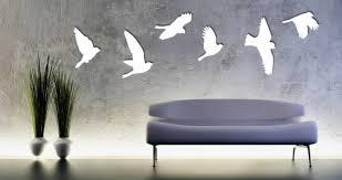 flying birds wall appliques dezign