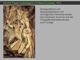 D'après l'œuvre de marcel duchamp, pour clarinette basse, trombone et orchestre [nu descendant un escalier]. Die Darstellung Von Bewegung Ppt Herunterladen