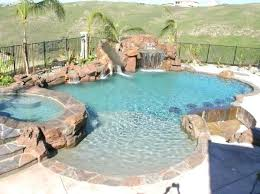 Pool Grotto Waterfall Grotto Slide And Sunken Bar Grotto Swimming