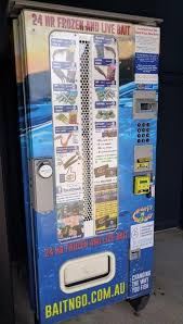 Bait Vending Machine Locations Beauteous Didn't Think I'd Ever See A Vending Machine For Live And Frozen Bait