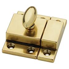 Martha Stewart Living 2 in. Bedford Brass Matchbox Door Latch ...